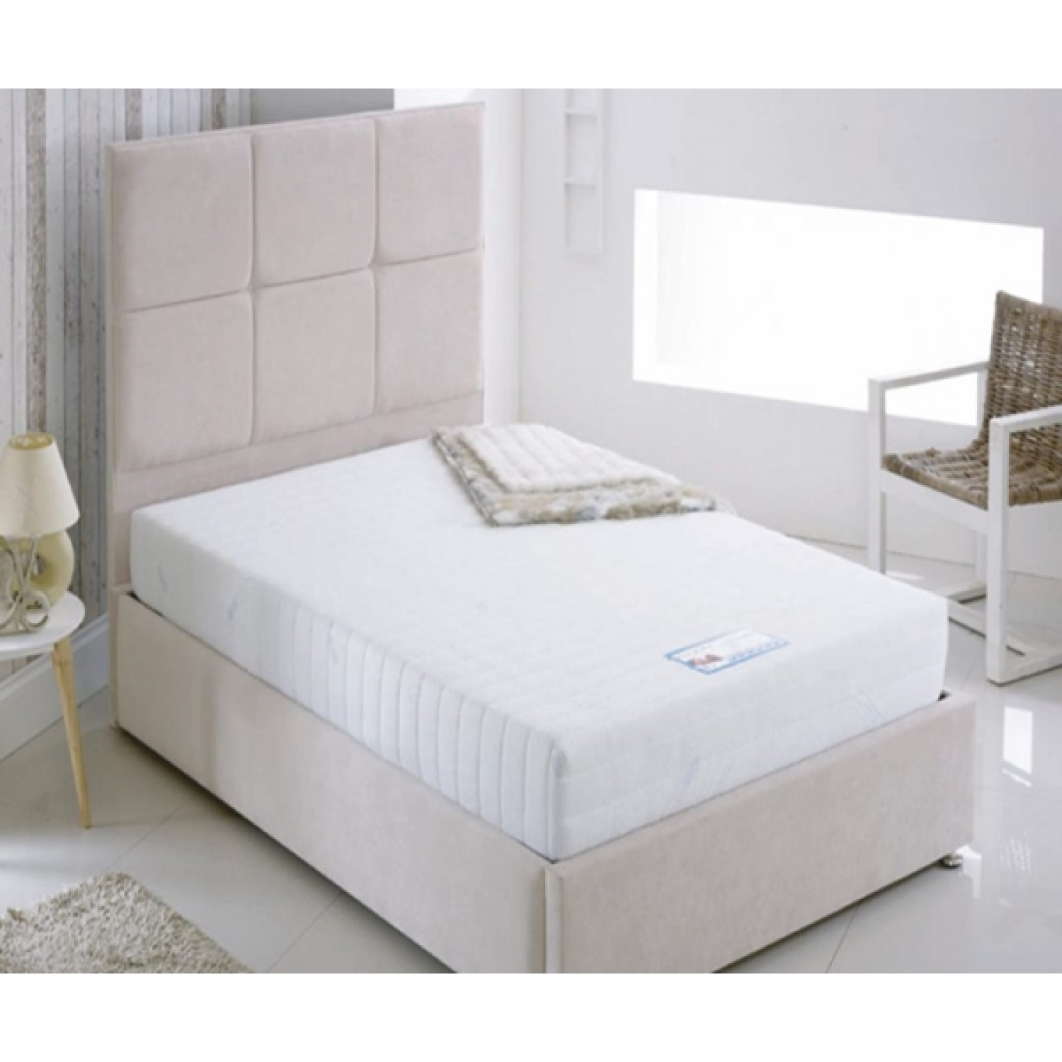 Kayflex Coolmax Memory Foam Rolled Mattress