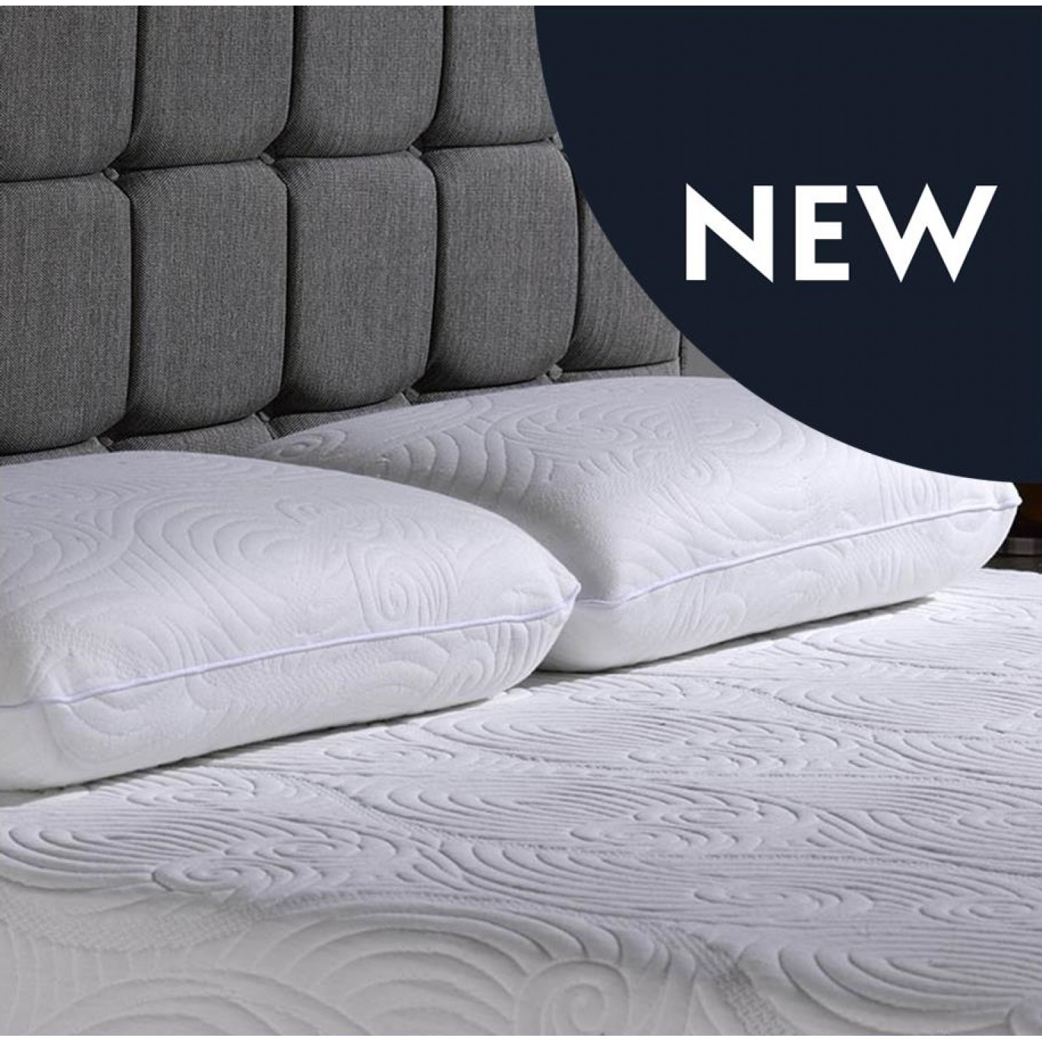 FROM £24 99 V40 Pair Memory Foam Pillows With Cool Max Cover 50