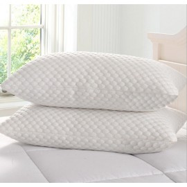 V60 Pair Memory Foam Pillows With Cool Max Cover 50% Reduced!