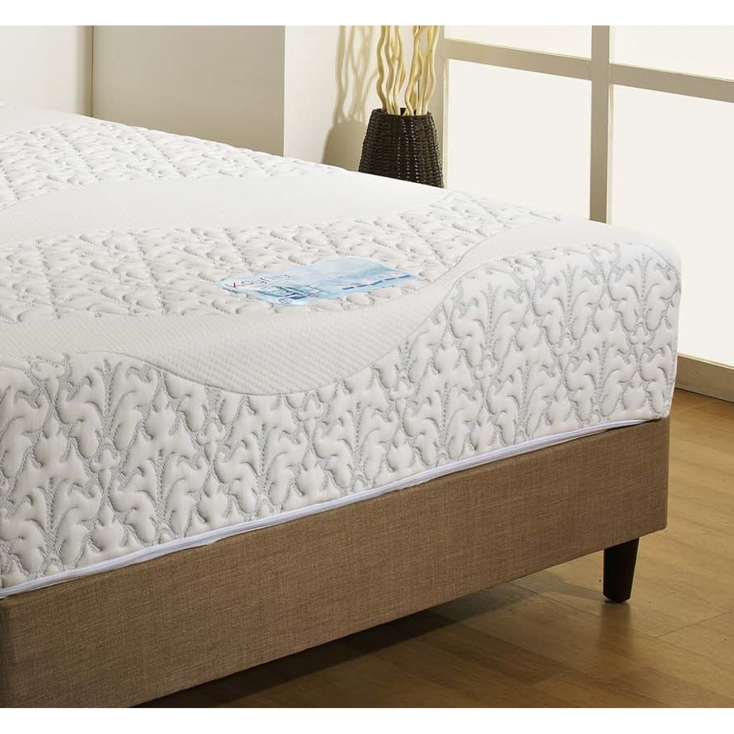 Kayflex Cool Blue Mist Pocket 1500 Encapsulated Mattress