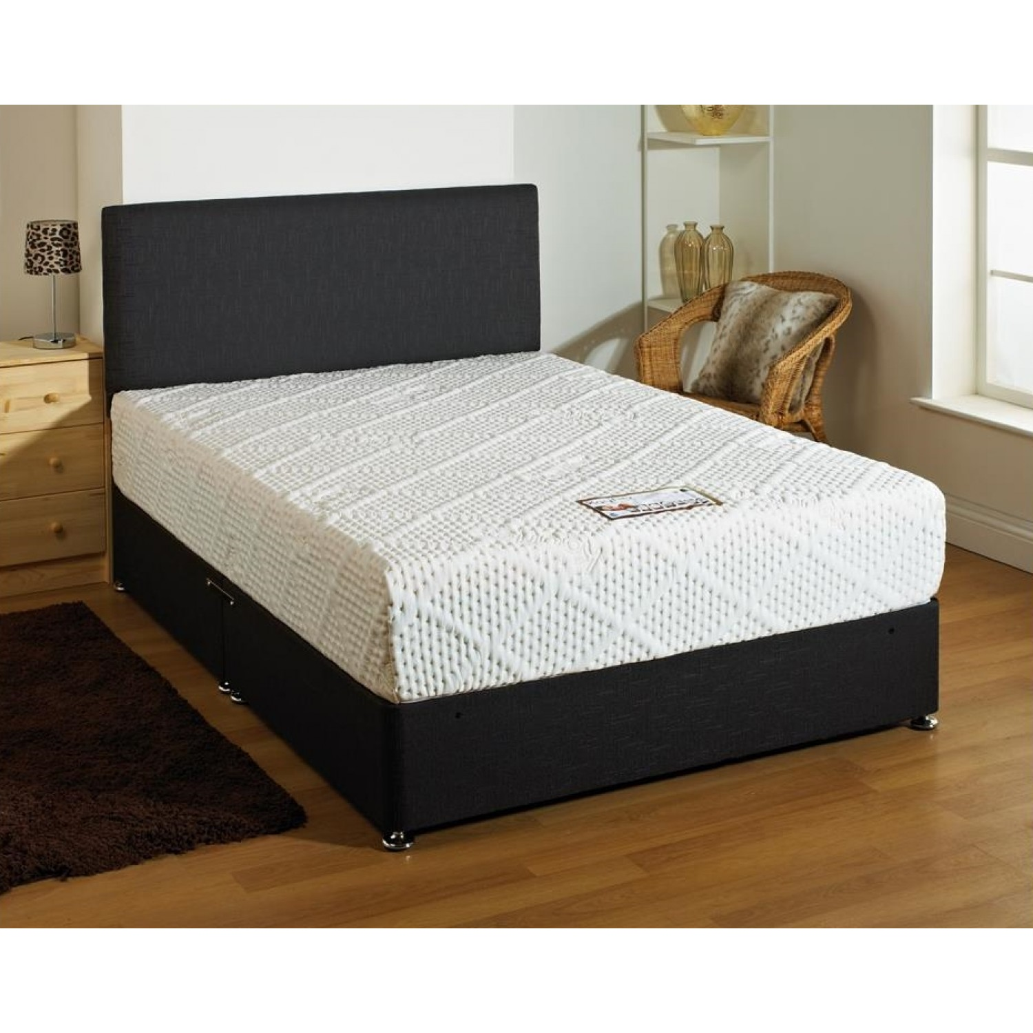 Kayflex Latex Pearl Pocket 1200 Memory Mattress