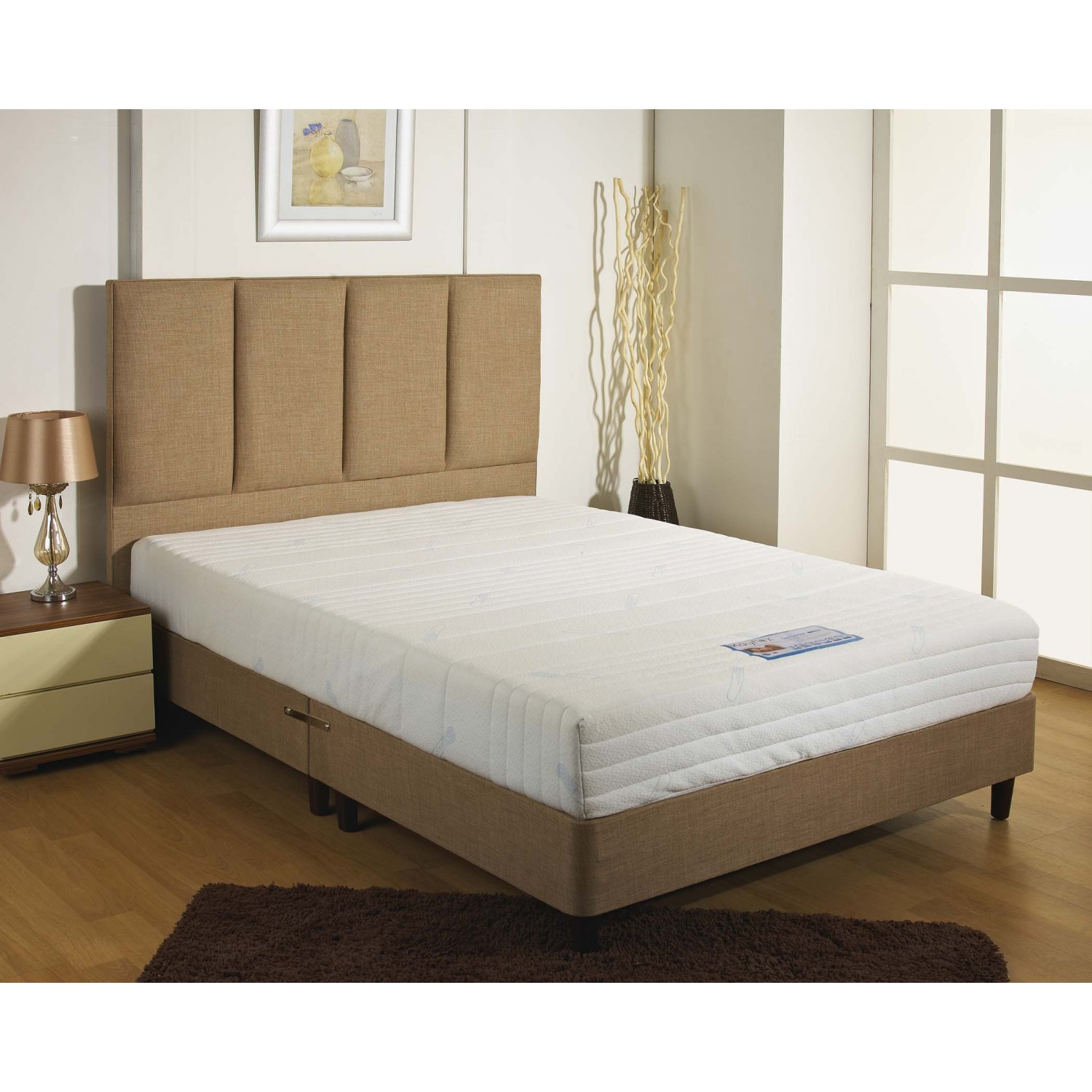 From Kayflex Coolmax Memory Foam Mattress