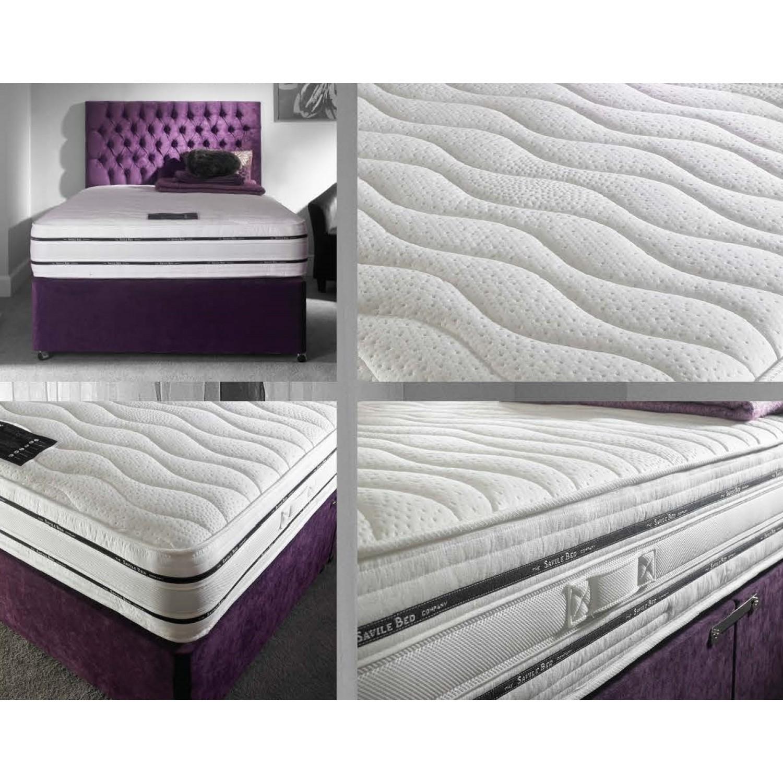 .Hyder Beds Total Comfort 1000 Pocket Memory Divan Set